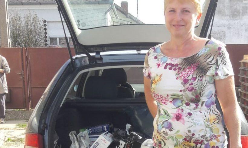 Der Katzenhilfe in Zala konnten wieder viele Spenden übergeben werden…