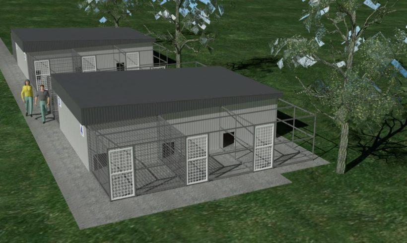 Neubau in Dombovar – endlich mehr Platz für die Hunde